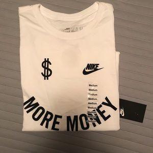"Nike Shirts - Nike ""More Money"" T-Shirt 🙂"